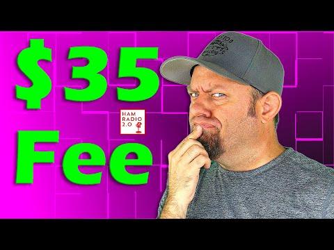 FCC Sets Amateur License Fee at  | Ham Radio License Fee