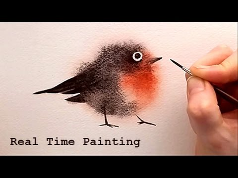 Explained Real Time Watercolor Illustration