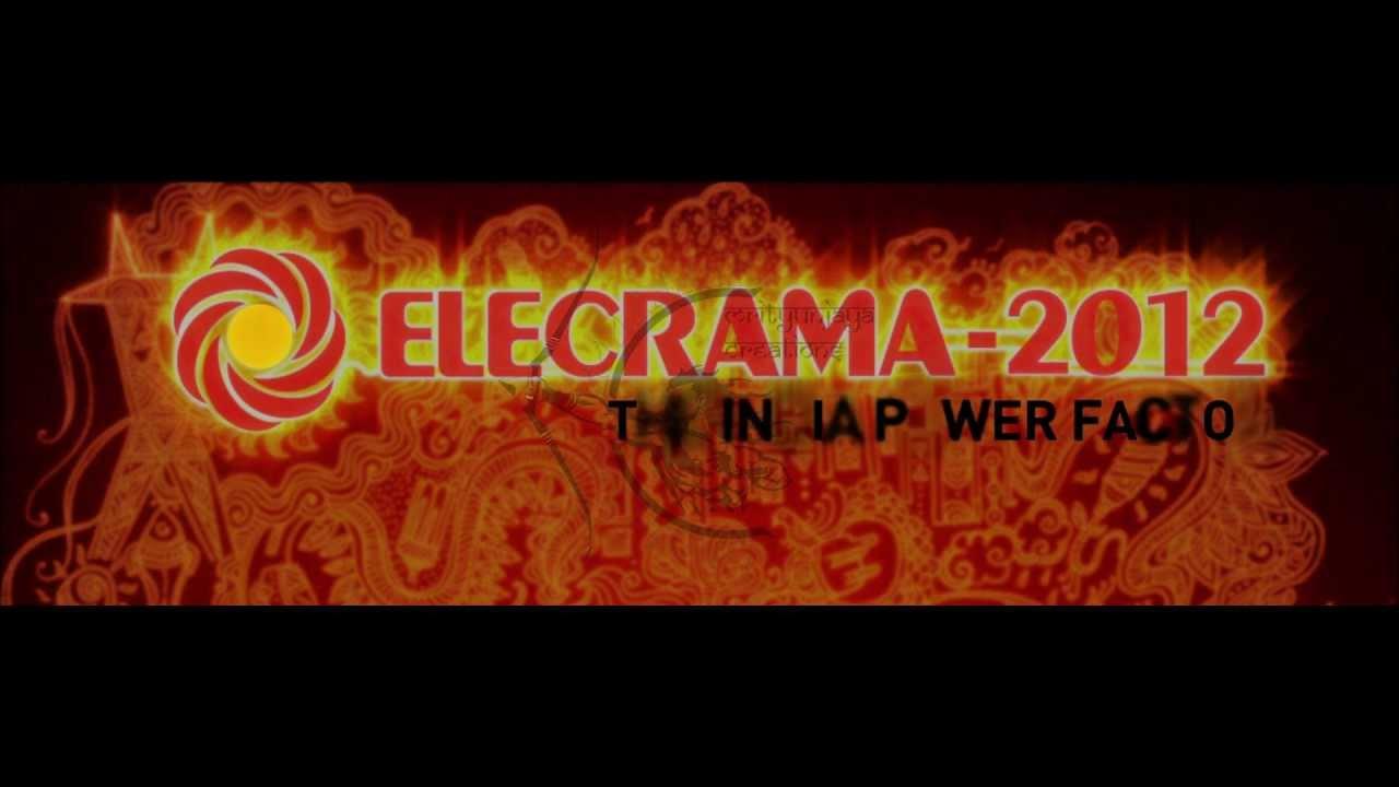 Elecrama-2012 Logo animation - YouTube