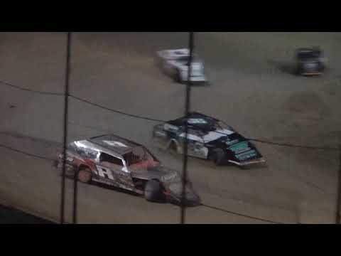 UMP Modified A-Main from Moler Raceway Park, August 27th, 2021. - dirt track racing video image