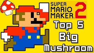 Super Mario Maker 2 Top 5 BIG MUSHROOM Courses (Switch)