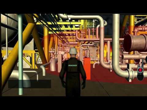 COMOS Walkinside Immersive Training Collaboration Simulation (MultiAvatar)