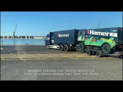Hamer Rallysport on the road to Marocco