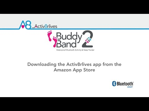How to download Activ8rlives App onto Amazon Kindle Fire