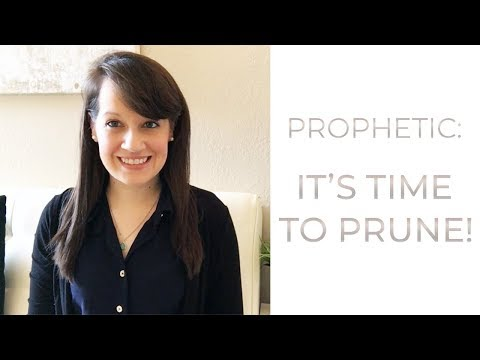 Prophetic Word: It's Time to Prune!