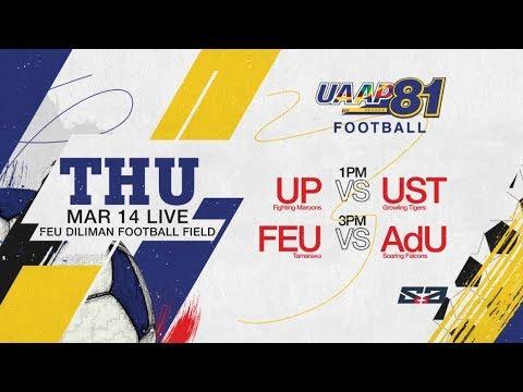 UAAP 81 MF: UP vs. UST & FEU vs. AdU - March 14, 2019 | Live on S+A