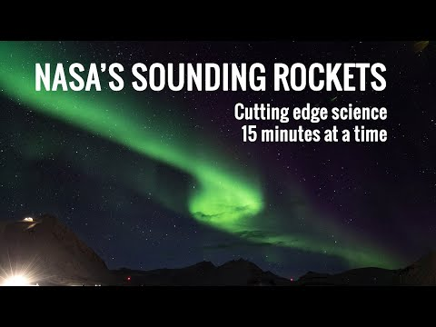 Sounding Rockets: Cutting edge science 15 minutes at a time