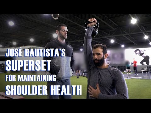 José Bautista's Superset for Maintaining Shoulder Health