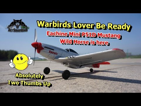 The Best Mini RC P51D Mustang Wild Horse Warbird RC Plane Ever - UCsFctXdFnbeoKpLefdEloEQ