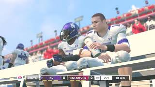 (Northwestern vs Stanford) PAC 12 (NCAA Football 20 2019 2020 Season) PS3