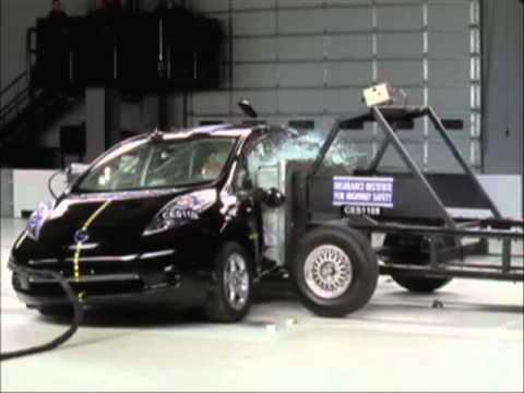 2011 Nissan Leaf front and side crash tests | Consumer Reports - UCOClvgLYa7g75eIaTdwj_vg