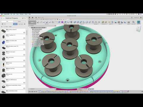 Fusion 360 Tutorial – Joints for Parametric Modeling