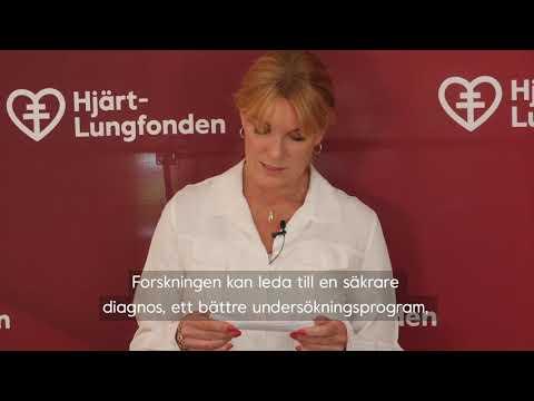 Utdelningen av Hjärt-Lungfondens stora forskningsanslag 2020