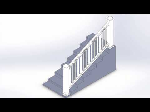 Liberty Extruded & Routed Rail System - Patent Approved Stair Rail System