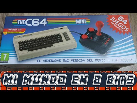 COMMODORE 64 - THE C64 MINI - UNBOXING Y PRIMER ENCENDIDO.