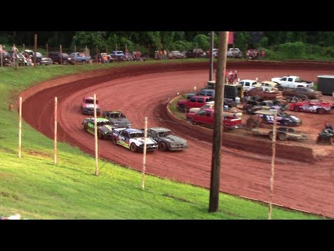 Street Stock - dirt track racing video image