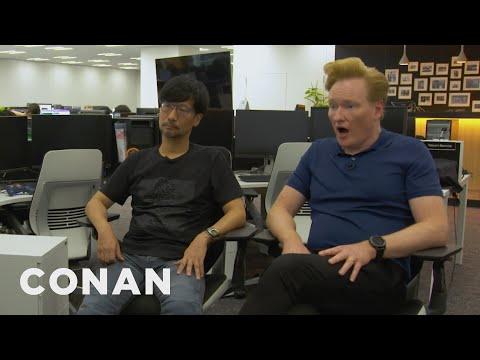 "Conan Visits The Offices Of ""Death Stranding"" Creator Hideo Kojima - CONAN on TBS - UCi7GJNg51C3jgmYTUwqoUXA"