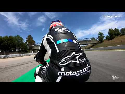 A lap of the Barcelona-Catalunya with Simon Crafar & GoPro?