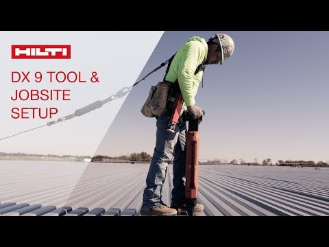 HOW TO setup your DX 9 stand-up decking system and job site for work