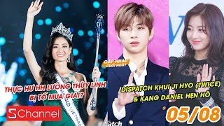 HH Lương Thùy Linh bị tố mua giải? | Dispatch khui Ji Hyo (TWICE) & Kang Daniel hẹn hò - GNCN 5/8