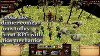 Dead Monarchy let's play - Hardcore turn based rpg - Battle Brothers with legs - fun combat