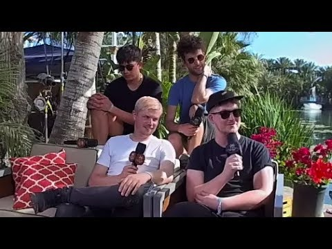 Klangstof Interview - VR180 - Coachella 2017