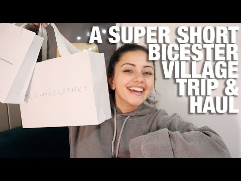 A SUPER SHORT BICESTER VILLAGE HAUL