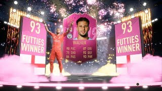 FUTTIES WINNER - SQUAD STAPLES - KYLE WALKER SBC SOLUTION COMPLETED - FIFA 19