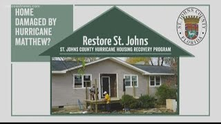 St. Johns County offering financial help for homeowners after Hurricane Matthew