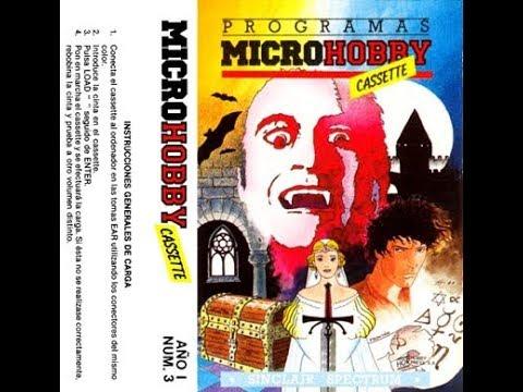 Microhobby Cassette número 3 & 4 con Dario