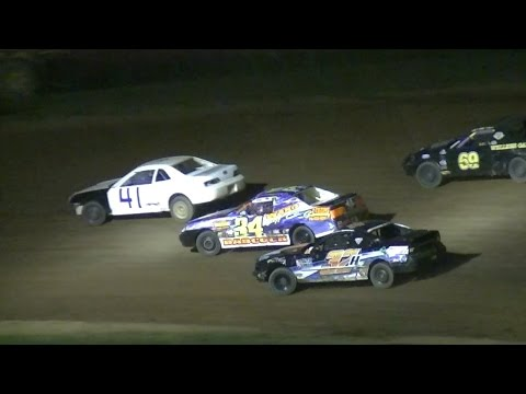 Mini Stock Feature | McKean County Raceway | 7-28-16 - dirt track racing video image