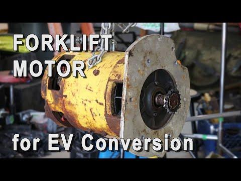 Electric Motor for Farm Tractor EV Conversion