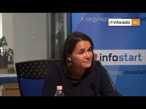InfoRádió - Aréna - Novák Katalin - 1.rész