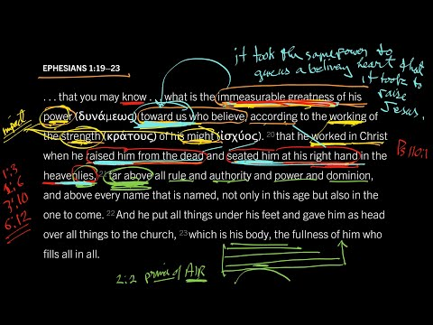 Ephesians 1:1923 // Part 1 // How Much Did It Take to Make You Believe?