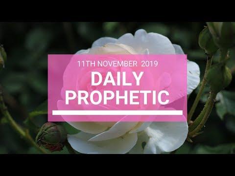 Daily Prophetic 11  November Word 5
