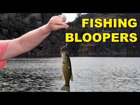 Funny Fishing Bloopers | Bass Fishing