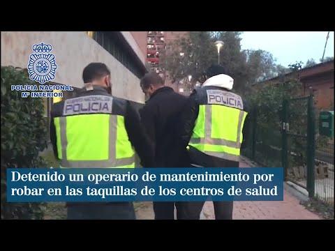 Detenido un operario de mantenimiento por robar en las taquillas de los centros de salud