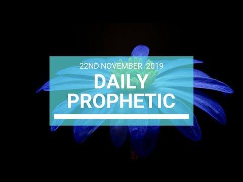 Daily Prophetic 22 November Word 7