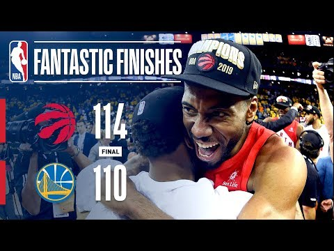 Raptors Win NBA Championship in Thrilling Fashion | 2019 NBA Finals