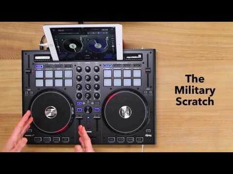 Learn How to Scratch: The Military Scratch (Tutorial 7)
