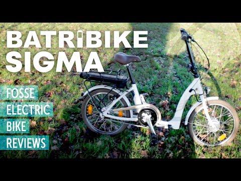 E-Bike Review: BATRIBIKE SIGMA folding electric bike UK