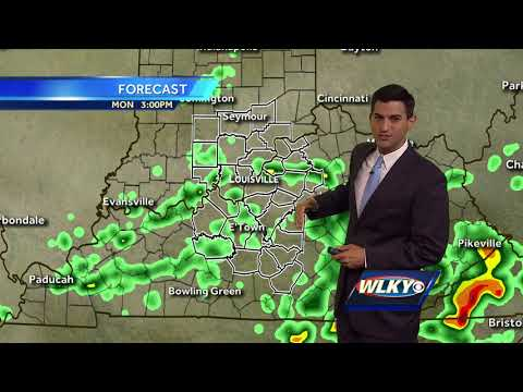 Showers possible to start the new week