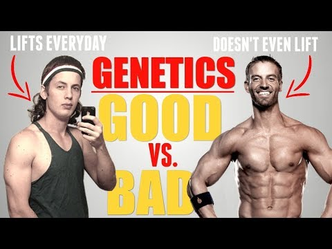How MUSCULAR Can YOU Get Naturally   GOOD vs. BAD Genetics - default
