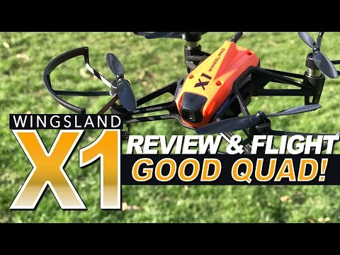 GOOD QUAD! - Wingsland X1 - Review, LOS, FPV Flights, Pros & Cons - UCwojJxGQ0SNeVV09mKlnonA
