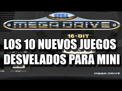 SEGA MEGA DRIVE MINI NEW GAME LIST