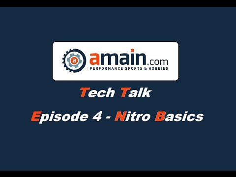 AMain Tech Talk - Episode Four: Nitro Linkage & Engine Basics