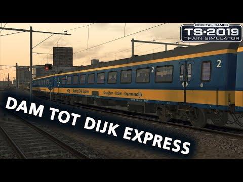 Train Simulator 2019: IC Direct van Dam tot Dijk