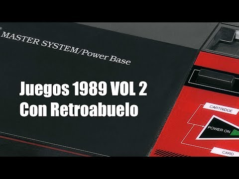 MASTER SYSTEM 1989 GAMES VOL 2