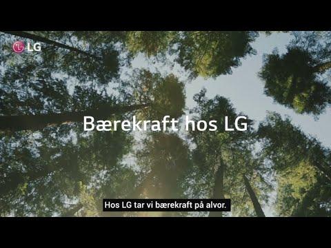 LG, med bærekraft i fokus