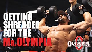 Shoulder Workout- Getting Shredded For the Mr. Olympia!